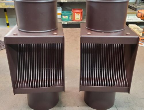 AutoClear I-PCSS 2021 Dark Brown Leaf Diverter Filter Screen Clean Out Powder Coated Stainless Steel Two Units but he may need more