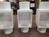 """AutoClear I-PCSS Downspout Leaf and Debris Diverters Filters for 4"""" Round Downspouts"""