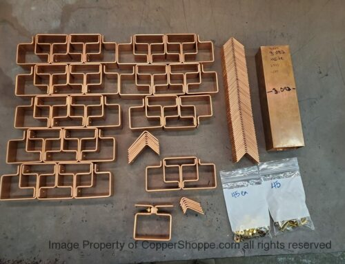 Knoke Copper Downspout Brackets Hangers for 3 by 2 Downspouts